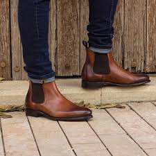We as chelsea boots men team appriciate to help you. Handmade Mens Brown Leather Chelsea Boots Men Brown Ankle Leather Boot On Luulla