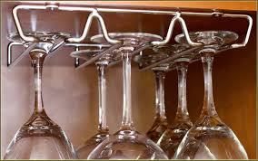 under cabinet stemware rack ikea