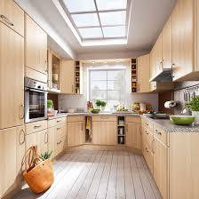 fitted kitchens for small spaces. Small Kitchen Extension With Sky Light, Wooden Cabinetry, Granite Worktops And Green Accessories Fitted Kitchens For Spaces T