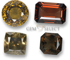 Cathedral Stone Color Chart Brown Gemstone Info List Of Brown Precious Gems For Jewelry