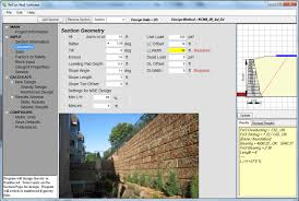Small Picture retaining wall design civil engineering page 1 of 1 design of