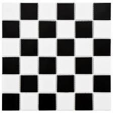 black and white tile floor. Brilliant Black And White Kamboja Flower Bathroom Floor Tile Motif Regarding | Primedfw.com