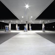 petrol station lighting for forecourt canopies advantage series 320w recessed canopy light affordable energy saving