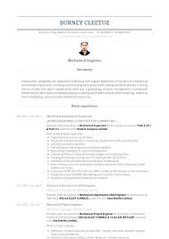 Resume Resume For Maintenance Engineer Mechanical
