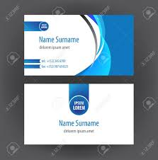 Free Personal Cards Set Of Vector Simple Professional And Designer Horizontal Personal