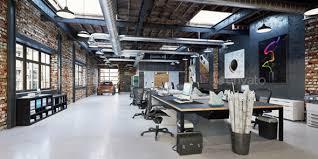 U 3D Render Modern Office Interior