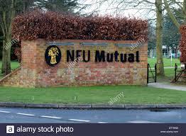 nfu mutual sign stratford upon avon warwickshire england uk