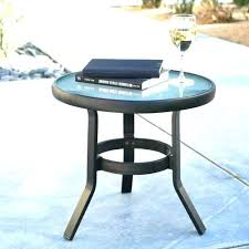 round outdoor side table plastic patio end tables plastic outdoor side table design ideas side table