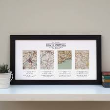 your story mapped out personalised map art for travel