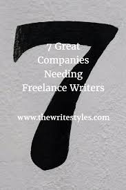 great companies needing lance writers the write styles