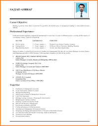 Sample Of Job Objective In Resume resume job objective bio resume samples 19