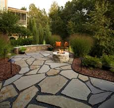 flagstone patio with grass. Flagstone Patio With Grass 2