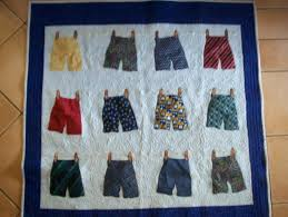 35 best memory quilts/pillows images on Pinterest | Craft ideas ... & Recycled mens neck tie quilt. Adamdwight.com