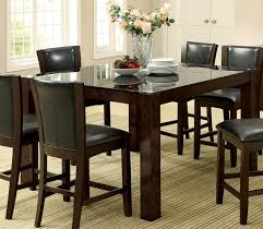 glass counter height table furniture of america cm3062pt astoria ii counter height table home pictures