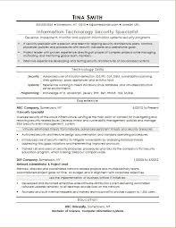 Sample Resume Information Information Security Resume Best Resume