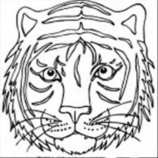 Small Picture Tiger Head Coloring SheetHeadPrintable Coloring Pages Free Download