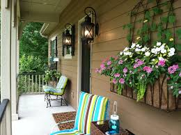 cozy porch wall decor decorating ideas back decorations front outdoor outside