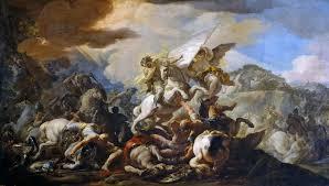 corrado giaquinto italian baroque rococco the battle of clavijo museo del prado madrid the athenaeum