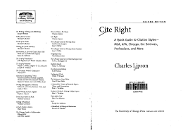 Cite Right 2nd Edition For Apa Citations Babs Ba Behavioral