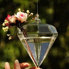 Small Picture Diamond Shape Crystal Glass Vases Wholesale Flower Vases Home