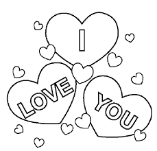 I Love You Coloring Page I Love You Printable Coloring Pages Live