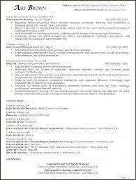 Sample Legal Secretary Resume Cover Letter Paralegal Cover Letter