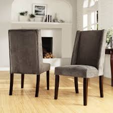 living room accent chairs set of two living room accent chairs set of two tribecca home ian grey chenille wingback dining chair