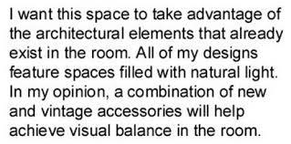 How To Write An Interior Design Concept Statement ToughNickel Gorgeous Concept Statement Interior Design