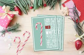 Bring on the holiday cheer with the perfect drink to sip while trimming the tree. Candy Cane Poem Printable Live Laugh Rowe