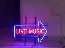 Neon Lights Live Live Music Bar Pub Beer Beer Room Hotel Game Neon Sign Light