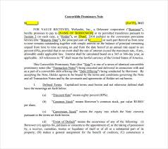 Assignment of promissory note