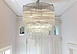 large foyer chandelier large foyer