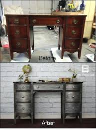 diy painted furniture ideas. Refinishing Furniture Diy A Desk Painted With Metallic Effects How To  . Ideas