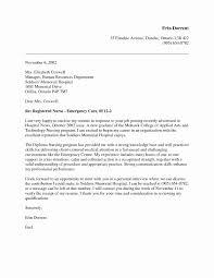 Sample Resume Cover Letter For Registered Nurse Best Nursing Resume