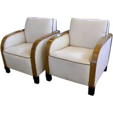 art deco club chairs with diamond fabric at 1stdibs art deco chairs