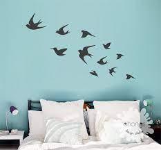 bird wall decal flying birds wall