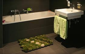 view in gallery real moss bath mat