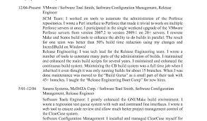 Configuration Management Resume Sample Release Manager Resume Ive