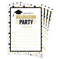 Graduation Party Invitation Template Ruisita 30 Pack 2019 Graduation Party Invitations With Envelopes Graduation Celebration Party Announcement Invitations Cards For High School Or