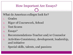 telling your story ten tips for writing powerful college essays 5th 3 how important are essays