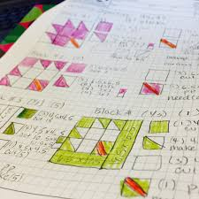 how to design a quilt on graph paper my fabric relish my quilt design process