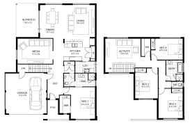 home architecture story floor plans open plan elevator 3rd ground