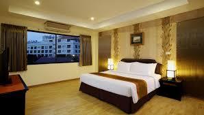 On Suite Bedroom Two Bedroom Suite Nova Park Hotel Pattaya