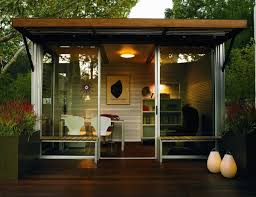 tiny backyard home office. 10 Tiny Home Designs - Exteriors \u0026 Interiors (Photos). Outdoor OfficeBackyard Backyard Office F