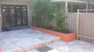 more views silver travertine patio66 patio