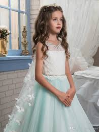 New wedding <b>princess butterfly</b> cape lace girls <b>dress</b> 2017 green ...