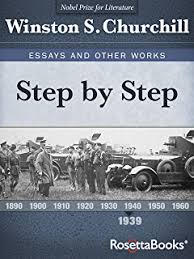 com the dream winston churchill s essays and other works step by step winston churchill s essays and other works collect book