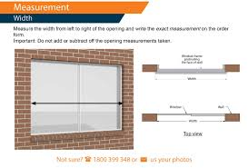 Measurement Window How To Measure For Roller Shutters Measuring Windows For