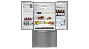 hisense 630l french door fridge with led display