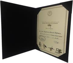a4 sized certificate holder